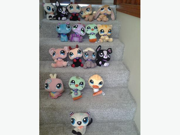 lot of littlest pet shop freinds
