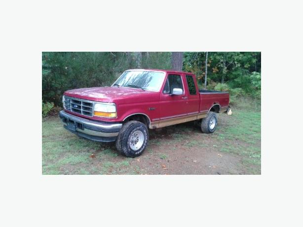 1995 Ford F150 4X4 Club Cab Short Box