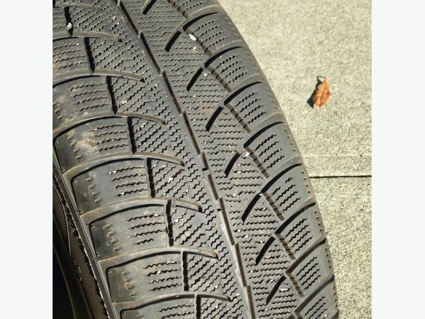 winter tires and rims for Dodge Caravan