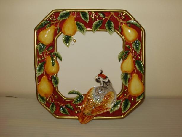 Partridge plate