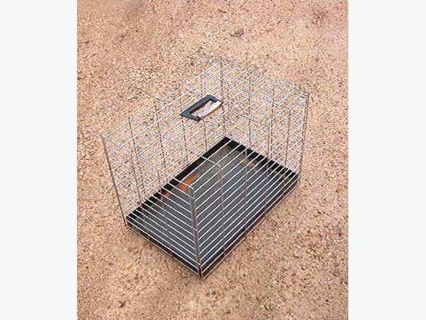 Metal pet carrier/transporter