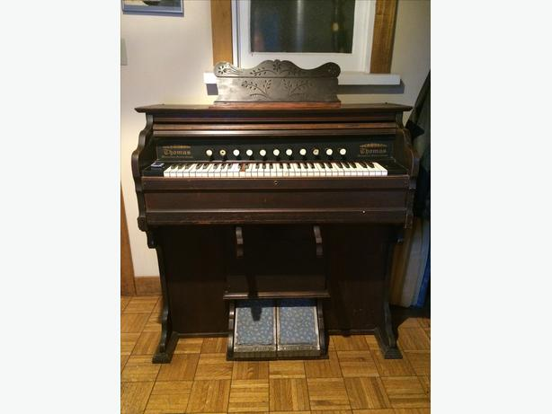 Antique Thomas Pump Organ