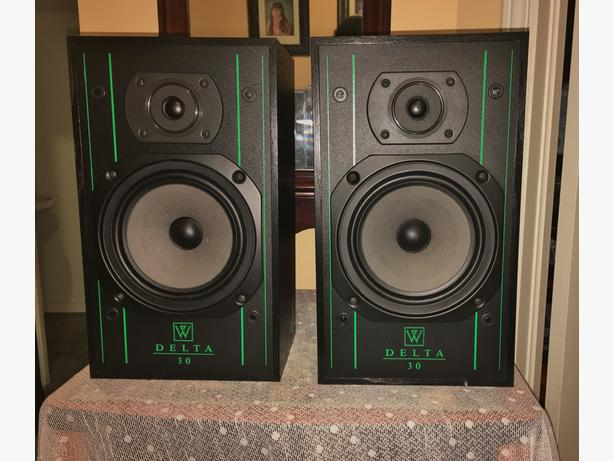 Wharfedale Bookshelf Speakers	DELTA 30