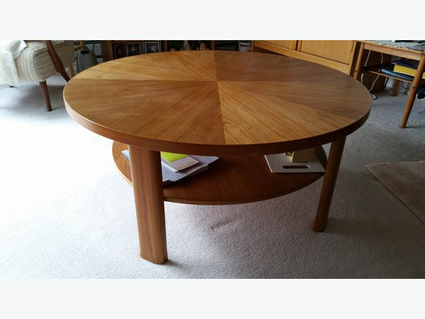 Solid Teak Vintage Living Room Table