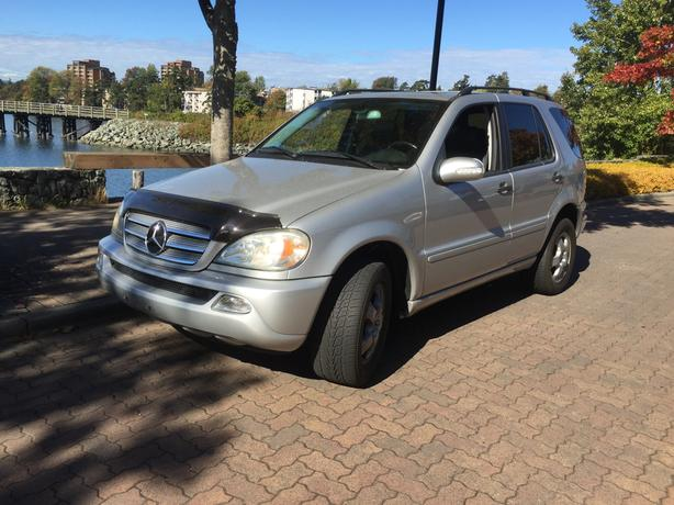 2004 MERCEDES ML 350 7 PASSENGER