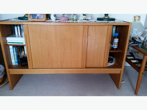 Teak Living/Dining Room Hutch