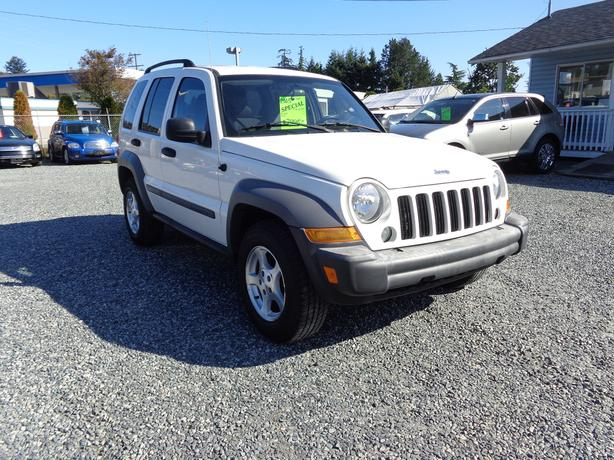2005 jeep liberty 4x4 sport - 113 kms