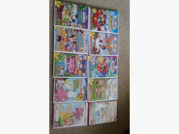 Assorted Toddler DVD's