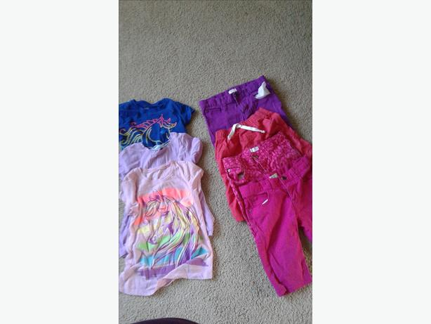 Girl's Clothing Lot Size 7/8