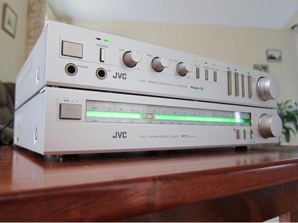 RARE JVC A-E5 INTEGRATED MINI AMP + T-E5 TUNER SET *EXCEPTIONAL QUALITY*