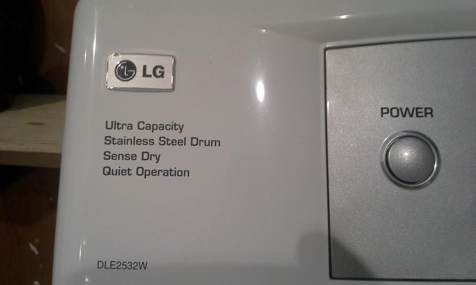 Lg Dryer Drum In The Hole ~ Lg dryer stainless drum victoria city