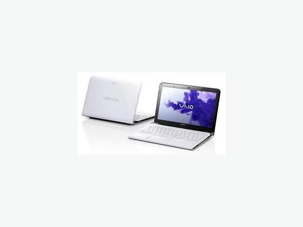 Sony Vaio 11.6 inch in white with SSD 1 TB, RAM DDR3 8 GB, bag