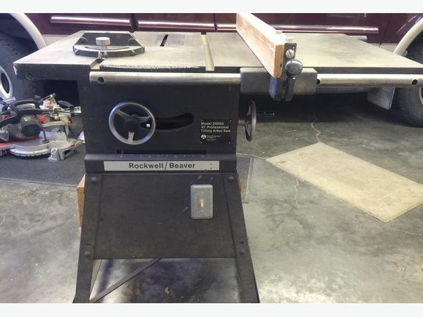 10 inch Professional Rockwell Table Saw