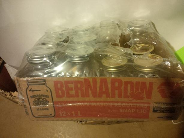 Preserving Jars, Lids etc.   Brand New,  Never Used