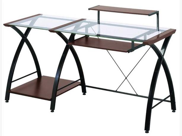 Brisa Z-Line Glass Computer Desk $100
