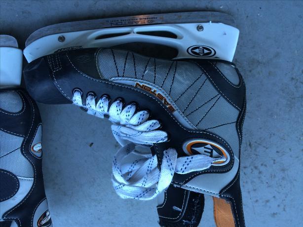 Skates and Gloves
