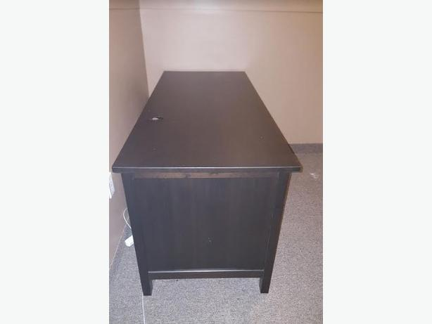 For Sale IKEA Hemnes ~ Computer Desk Blk/Brn ~ $100.00