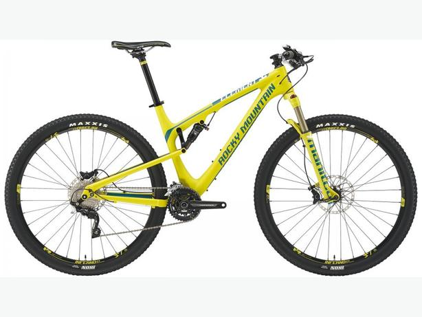 2015 Rocky Mountain Element 950 RSL + Mavic Crossmax SL