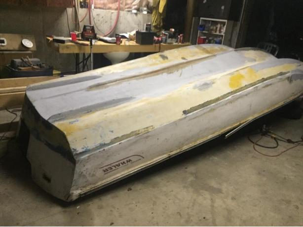 boston whaler needs work