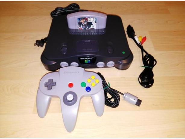 Nintendo 64 System With Controller & Game - Works Perfectly