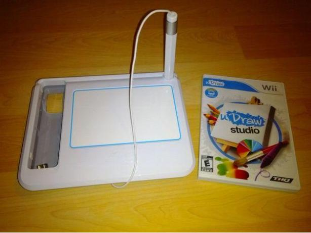 uDraw Studio With Tablet For The Nintendo Wii