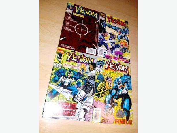 1994 Venom Nights Of Vengeance Complete Run #1-4