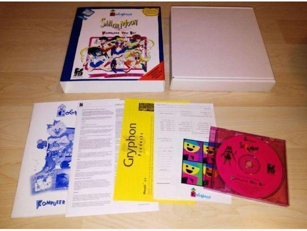 Hard To Find 1995 Sailor Moon Computer Game Complete In Box