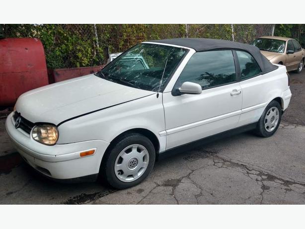 1999 Volkswagen Golf Cabriolet