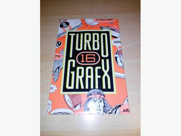 Turbo Grafx 16 Promotional Poster
