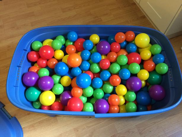 Plastic Balls (for ball pit)