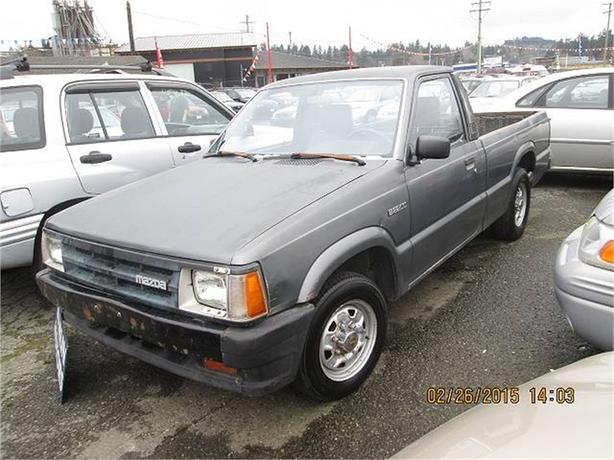 1992 Mazda B2000 B2200 Reg. Cab Short Bed 2WD