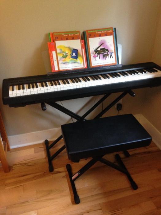 Yamaha p95 digital piano duncan cowichan for Yamaha piano store winnipeg