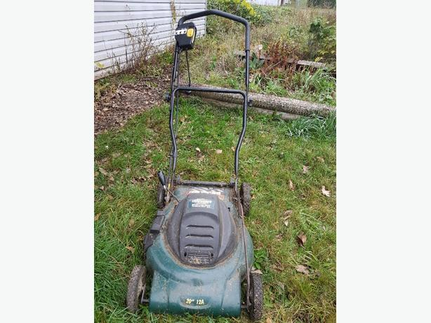 Yard Works Electric Lawnmower