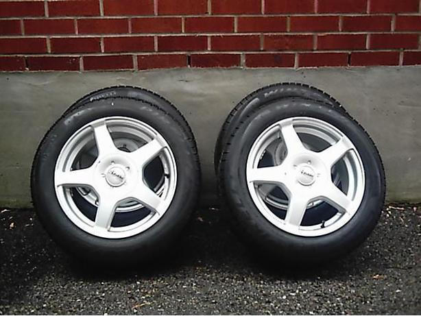 BMW Mini snow tires & rims