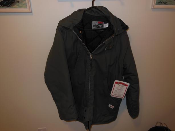 Work King heavy duty winter work jacket.