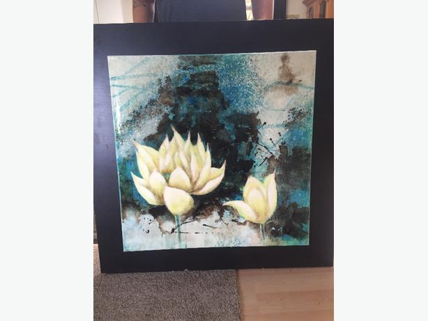 Water Lillies Painting