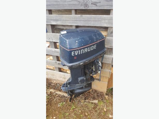 91' 88hp Evinrude SPL