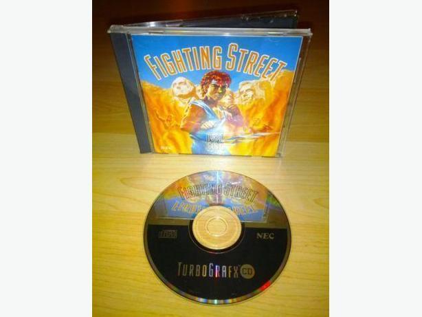 Fighting Street For The Turbo Grafx CD
