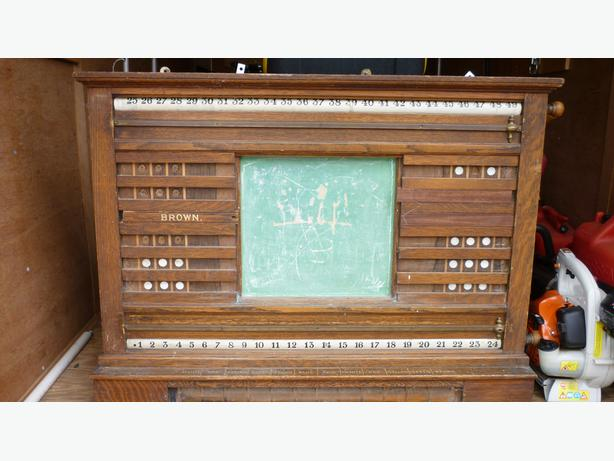 Antique Score Board
