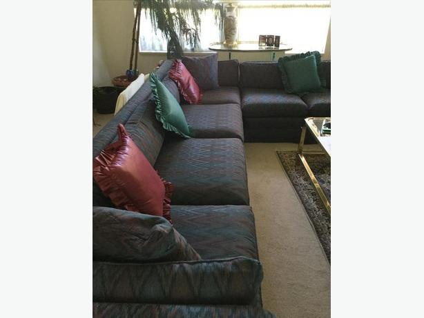 Ottoman and sectional sofa buy Flexsteel