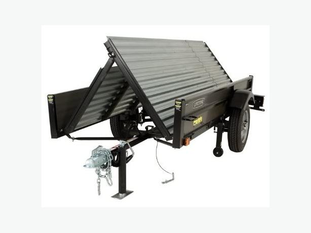 WANTED: Lifetime or Craftsman Fold-up Utility Trailer