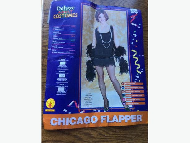 CHICAGO FLAPPER Adult Costume - Size Medium- Excellent Condition