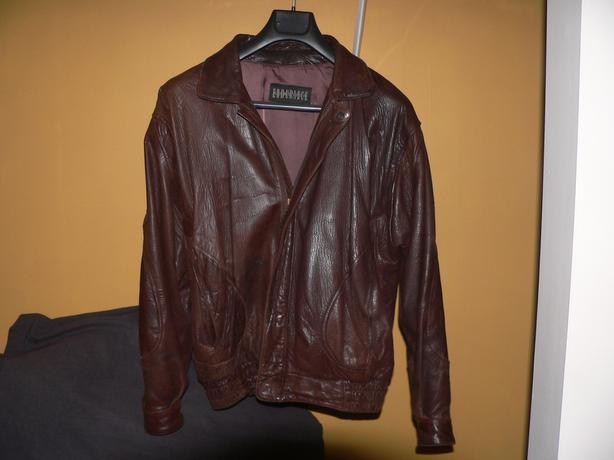 REDUCED 50% NOW $250 Chocolate Brown Lambskin Leather Jacket