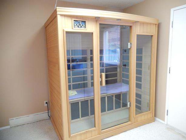 3 man infra red sauna