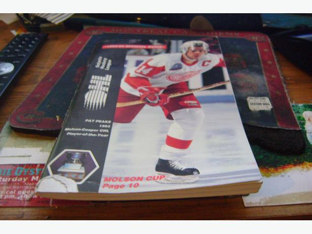 OHL 1993-94 OFFICIAL GUIDE