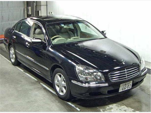 2001 Infinity Q45 Nissan Cima 98 KMs, LEATHER - $161 B/W