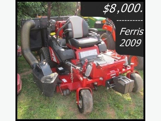 2009 Ferris is 2500Z Diesel zero turn riding lawnmower