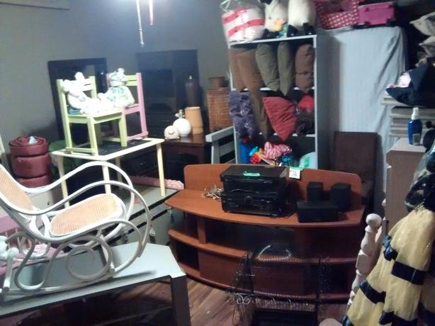various furniture and household