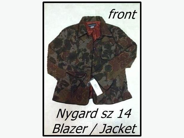 Nygard Blazer Jacket - NEW WITH TAGS sz 14 Ladies / Teens