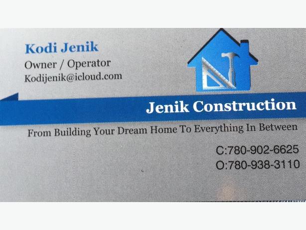 Jenik Construction LTD